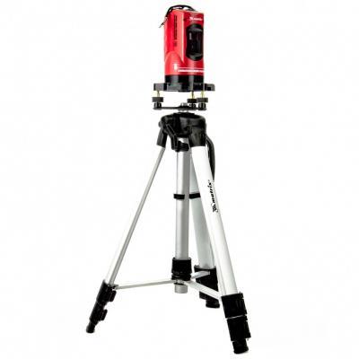 Уровень лазерный, 150 мм, штатив 1150 самовырав., набор в пласт. кейсе// Matrix