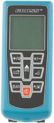 Дальномер лазерный Kompakt 70, от 0,05 до 70 метров, функц. Пифагора, площадь, объем, таймер// Gross