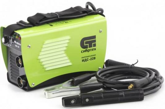 Аппарат инвертор. дуговой сварки ИДС-220, 220 А, ПВ 80%, диам.эл. 1,6-5 мм// Сибртех аппарат аргонно дуговой сварки aurorapro ironman 500 ac dc pulse