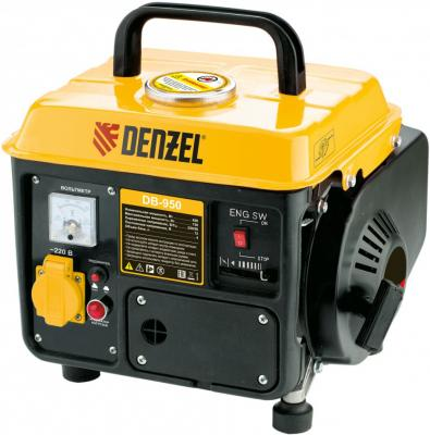 Картинка для Генератор бензиновый DB950, 0,75 кВт, 220В/50Гц, 4 л, ручн. пуск// Denzel
