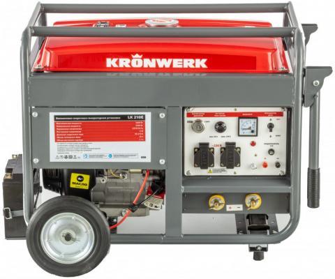 Бензиновая сварочная генераторная установка LK 210Е, 5,0 кВт, 220В, бак 25 л, электрост.// Kronwerk д и оташехов дизель генераторная установка диагностика ремонт техобслуживание