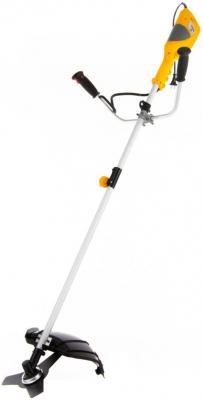 Триммер электрический TE-1400, 1400 Вт, 420 мм, катушка+диск, разборная штанга// Denzel триммер электрический эки 1000 1000 вт 350 мм разборная штанга катушка полуавтомат сибртех