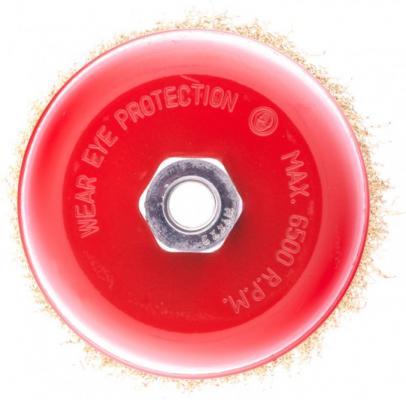 щетка для ушм elitech heavy duty 125 мм м14 чашка 0 5 мм 1820 075600 Щетка для УШМ, 125 мм, М14, чашка, латунированная витая проволока// Matrix
