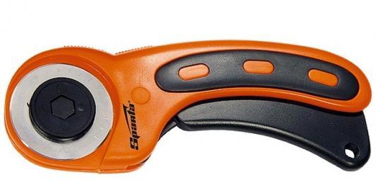 Фото - Нож, 45 мм, вращающееся лезвие-ролик диаметром, пластмассовая ручка пистолетного типа// Sparta нож складной 200 мм загнутое лезвие деревянная ручка sparta