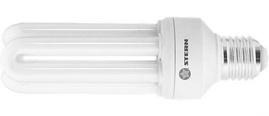 Лампа компактная люминесцентная, U-образная, 15W, 2700K, E27, 8000ч.// Stern лампа энергосберегающая спираль ecowatt mini sp 15w 827 e27 e27 15w 2700k