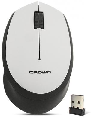 Беспроводная мышь CROWN CMM-937W black/grey