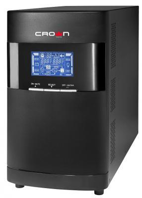 Источник бесперебойного питания Crown CMUOA-350-3K EURO 3000VA Черный