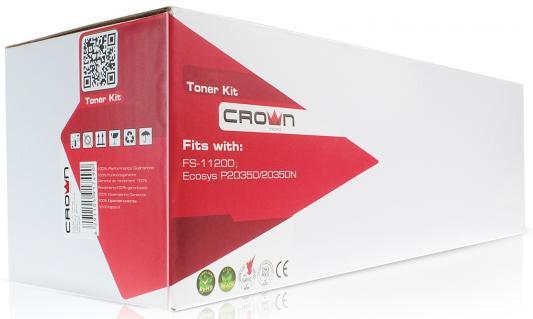 Фото - Картридж CROWN CMK-TK-55/TK-57 (ресурс 15000ст. / FS-1920) картридж crown cmk tk 540c cyan для kyocera fs c5100 4000к