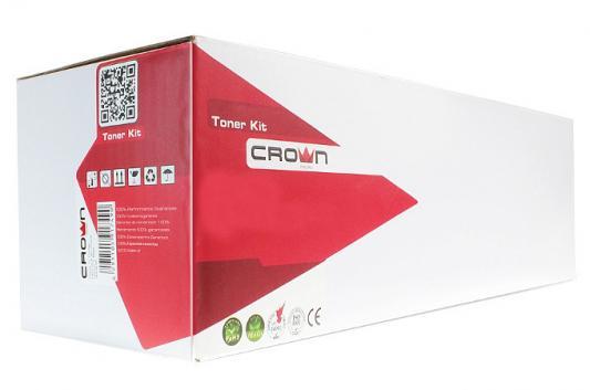 Фото - Картридж CROWN CMK-TK-540K (ресурс 5000ст. / чёрный, black, FS-C5100) картридж crown cmk tk 540c cyan для kyocera fs c5100 4000к