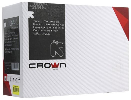 Картридж CROWN CT-CC364A (CC364A / 64A Hp LaserJet: P4014, 4015, 4515)