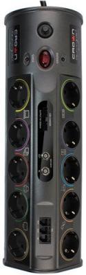 Сетевой фильтр Crown CROWN CMPS-10 1.8 м 10 розеток 2xUSB