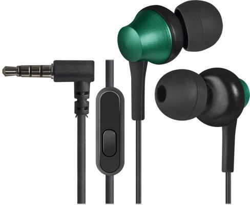 Гарнитура Defender Pulse-470 черный зеленый 63473
