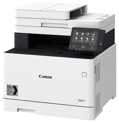 Фото - МФУ Canon i-SENSYS MF744Cdw (копир-цветной принтер-сканер DADF, duplex, 27стр. мин. 1200x1200dpi, Fax, WiFi, LAN, A4) замена MF734Cdw принтер canon i sensys lbp6030b black монохромное лазерное a4 18 стр мин 150 листов usb