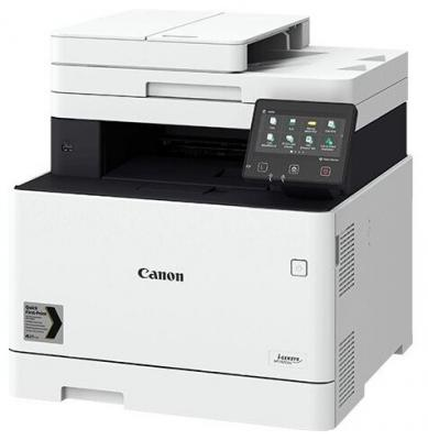 Фото - МФУ Canon i-SENSYS MF742Cdw (копир-цветной принтер-сканер duplex, DADF, 27стр. мин. 1200x1200dpi, WiFi, LAN, A4) замена MF732Cdw принтер canon i sensys lbp6030b black монохромное лазерное a4 18 стр мин 150 листов usb