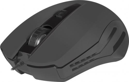 цена на Мышь проводная Defender Datum MM-351 чёрный USB 52351
