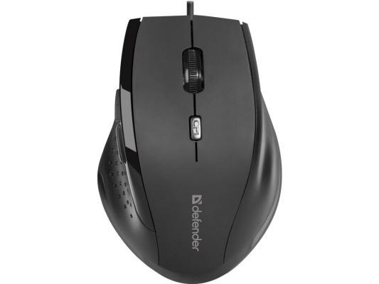 Мышь оптическая Accura MM-362 черный,6 кнопок, 800-1600 dpi DEFENDER цена