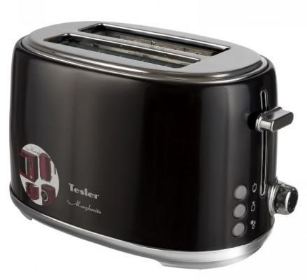 Тостер TESLER TT-255 чёрный