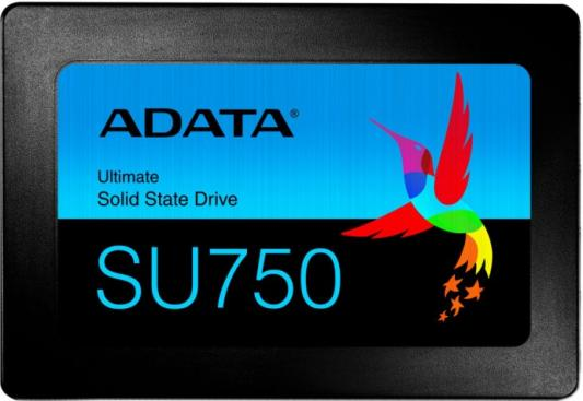 "Твердотельный накопитель SSD 2.5"" 512 Gb A-Data ASU750SS-512GT-C Read 550Mb/s Write 520Mb/s 3D NAND TLC"
