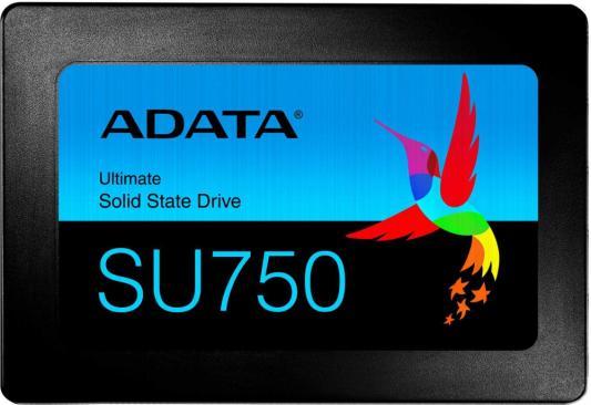 """Твердотельный накопитель SSD A-Data SATA III 256Gb ASU750SS-256GT-C Ultimate SU750 2.5"""" (TLC,550/520 Мб/с) цена и фото"""