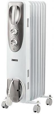 Радиатор масляный Zanussi Espressione ZOH/ES-07WN 1500W (7-секций) биметаллический радиатор rifar рифар b 500 нп 10 сек лев кол во секций 10 мощность вт 2040 подключение левое
