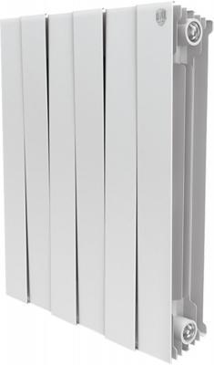 Радиатор Royal Thermo PianoForte 500 new/Bianco Traffico - 6 секц. биметаллический радиатор rifar рифар b 500 нп 10 сек лев кол во секций 10 мощность вт 2040 подключение левое