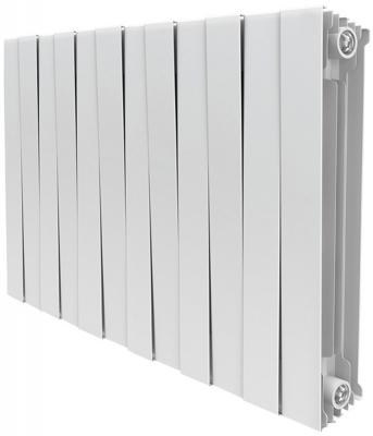 Радиатор Royal Thermo PianoForte 500 new/Bianco Traffico - 12 секц. биметаллический радиатор rifar рифар b 500 нп 10 сек лев кол во секций 10 мощность вт 2040 подключение левое