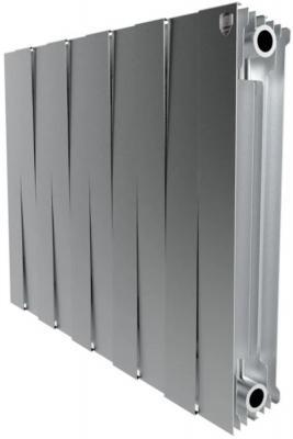 цена на Радиатор Royal Thermo PianoForte 500 new/Silver Satin - 10 секц.