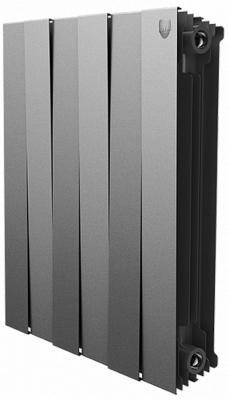 Радиатор Royal Thermo PianoForte 500 new/Silver Satin - 4 секц.