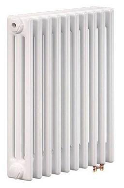 Радиатор труб. Zehnder Charleston Retrofit 3057, 10 сек.1/2 ниж.подк. RAL9016 (кроншт.в компл) биметаллический радиатор rifar рифар b 500 нп 10 сек лев кол во секций 10 мощность вт 2040 подключение левое