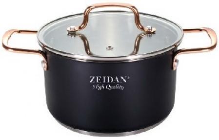 Кастрюля Zeidan Z-50330 5.1 л сталь zeidan z 1240