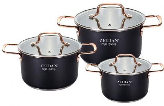 Набор кастрюль Zeidan Z-50634 набор кастрюль zeidan z 50806