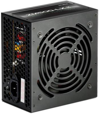 Блок питания Zalman ZM500-LXII <600W, (20+4+4+4) pin, 2x(6+2) pin, 6xSATA, 3xMolex, 12 см, кабель питания, 84%, Active P цена
