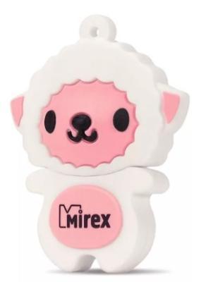 Фото - Флеш накопитель 16GB Mirex Sheep, USB 2.0, Розовый флеш накопитель 16gb mirex sheep usb 2 0 розовый