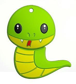 Фото - Флеш накопитель 16GB Mirex Snake, USB 2.0, Зеленый usb флеш накопитель perfeo 4gb c04 красный