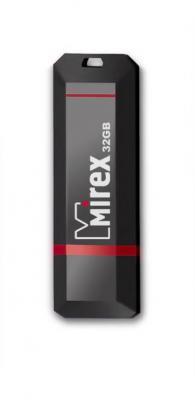 Фото - Флеш накопитель 32GB Mirex Knight, USB 2.0, Черный флеш накопитель 32gb mirex mario usb 2 0 черный