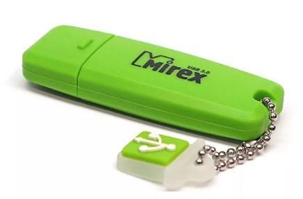 Фото - Флешка 32Gb Mirex Chromatic USB 3.0 зеленый флешка mirex chromatic usb 3 0 32gb 32 гб красный