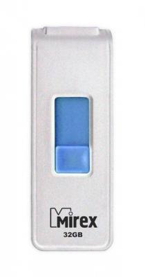 Фото - Флеш накопитель 32GB Mirex Shot, USB 2.0, Белый флеш накопитель 32gb mirex mario usb 2 0 черный