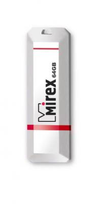 Фото - Флеш накопитель 64GB Mirex Knight, USB 2.0, Белый флеш накопитель 64gb mirex elf usb 2 0 желтый