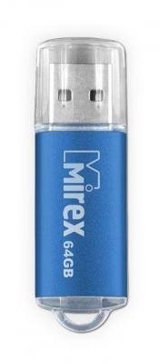 Фото - Флеш накопитель 64GB Mirex Unit, USB 2.0, Синий балетки alessio nesca 00006780 41 синий 41 размер