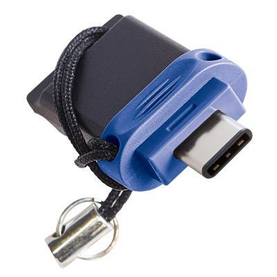 Фото - Флеш накопитель 64GB Verbatim Dual Drive, USB 3.0/Type-C флеш накопитель type c choice uc350 gold 64 гб