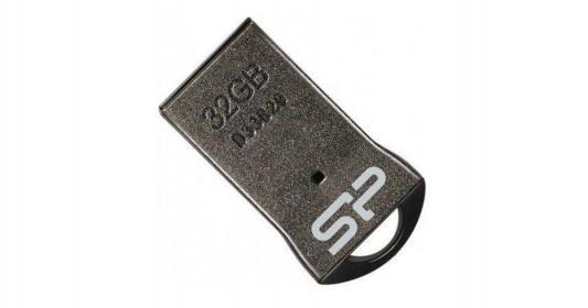 цена на Флеш накопитель 32GB Silicon Power Touch T01, USB 2.0, Черный, без цепочки