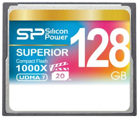 Флеш карта CF 128GB Silicon Power, 1000X