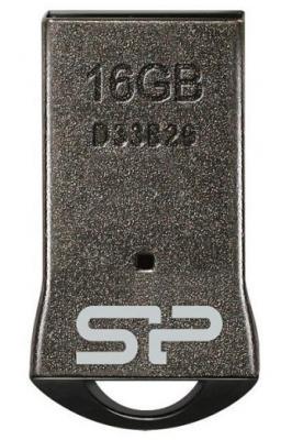 Фото - Флешка 16Gb Silicon Power T01 USB 2.0 черный флешка silicon power touch t01 64gb серебристый
