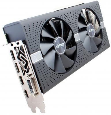 Видеокарта 4096Mb Sapphire RX 580 NITRO+ PCI-E DVI HDMI DP 11265-07-20G OEM из ремонта