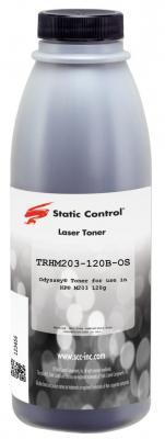 Фото - Тонер Static Control TRHM203-120B-OS черный флакон 120гр. для принтера HP LJ M203/M227 тонер static control trhm606 1160bos черный флакон 1160гр для принтера oki b431