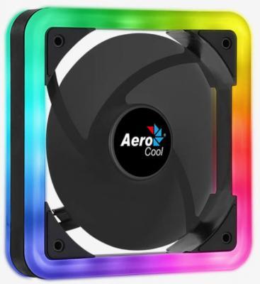 Вентилятор Aerocool Edge 14, Addressable RGB LED, 140x140x25мм, 6-PIN + 4-PIN PWM