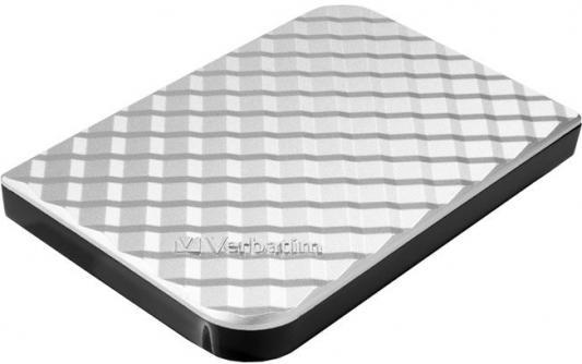 Внешний жесткий диск 4TB Verbatim Store 'n' Go Style Gen2, 2.5, USB 3.0, Серебристый, Slim жесткий диск verbatim store n go 2tb usb 3 2 silver 53666