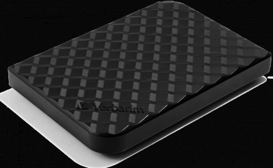 """Внешний жесткий диск 5TB Verbatim Store 'n' Go Style Gen2, 2.5"""", USB 3.0, Черный, Slim  - купить со скидкой"""