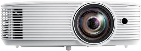 Фото - Проектор Optoma X308STe 1024x768 3500 люмен 22000:1 белый (E1P1A26WE1Z1) проектор optoma x343e 1024x768 3800 люмен 20000 1 черный
