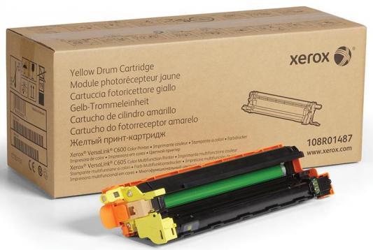 Фото - Драм-картридж XEROX VersaLink C600/C605 желтый (40K) драм картридж xerox 108r00775